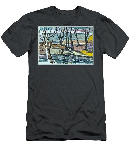Winter Wilds Men's T-Shirt (Athletic Fit)
