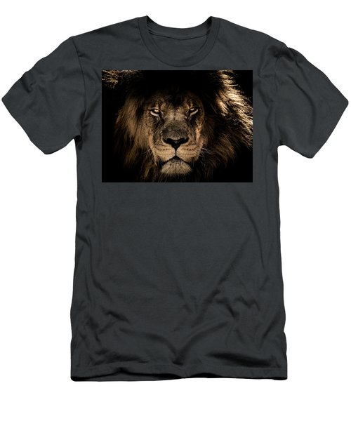 Wise Lion Men's T-Shirt (Athletic Fit)