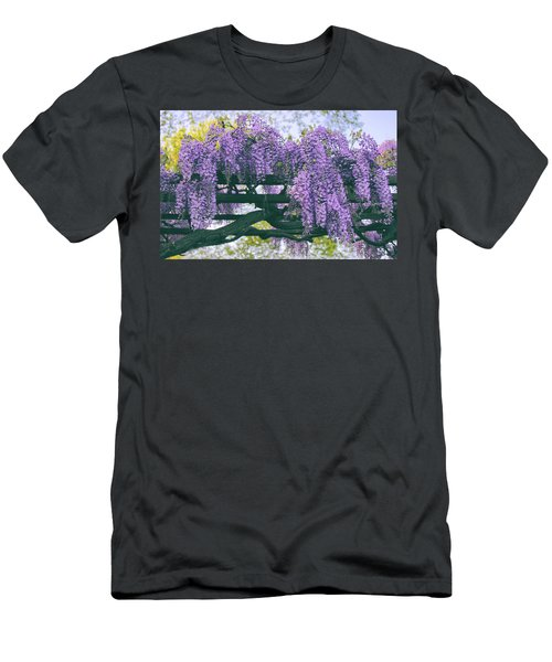 Wisteria Floribunda  Men's T-Shirt (Athletic Fit)