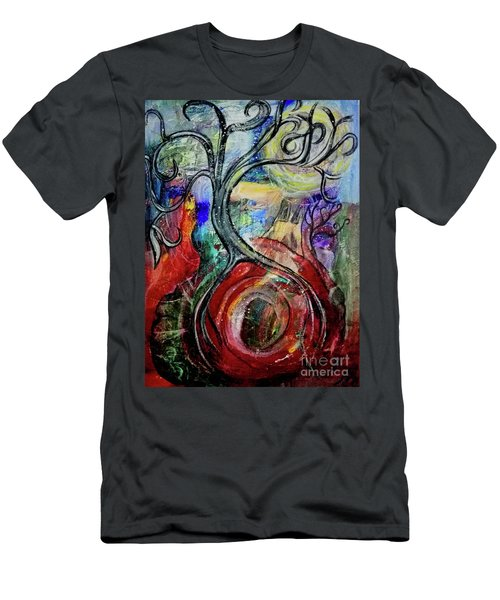 Witching Tree Men's T-Shirt (Athletic Fit)