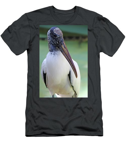 Wood Stork 40312 Men's T-Shirt (Athletic Fit)