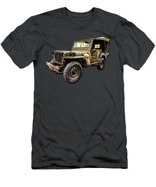 Ww2 Jeep Men's T-Shirt (Athletic Fit)