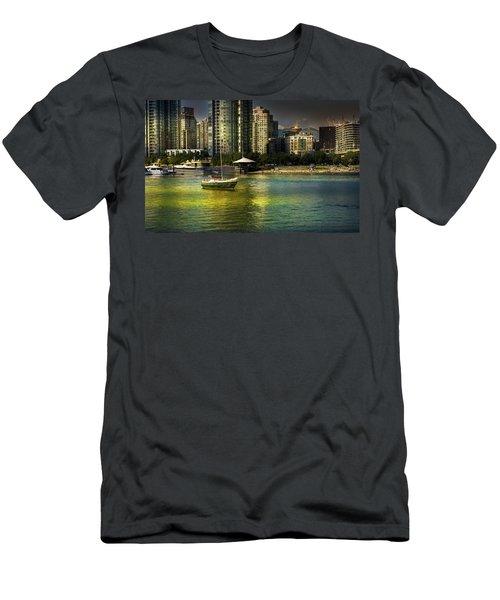 Yaletown Sunset Men's T-Shirt (Athletic Fit)