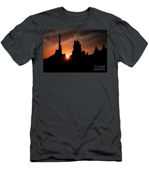 Men's T-Shirt (Athletic Fit) featuring the photograph Yei Bi Chei Dancers by Scott Kemper