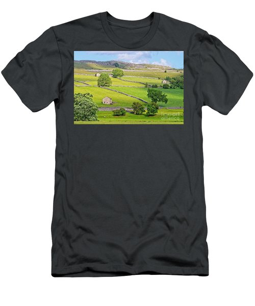Yorkshire Dales Men's T-Shirt (Athletic Fit)
