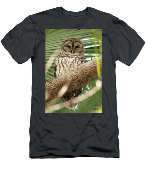 Somebody's Watching Me Men's T-Shirt (Athletic Fit)