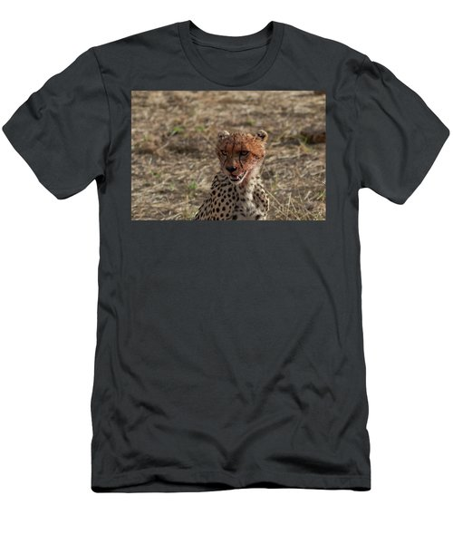 Young Cheetah Men's T-Shirt (Athletic Fit)