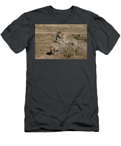 Young Cheetahs Men's T-Shirt (Athletic Fit)