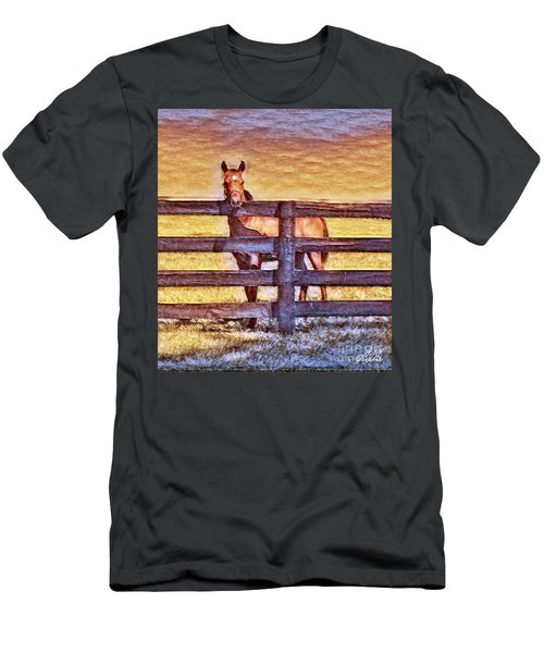 Young Kentucky Thoroughbred Men's T-Shirt (Athletic Fit)