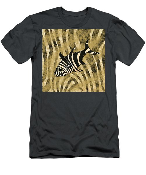 Zebra Fish 1 Men's T-Shirt (Athletic Fit)