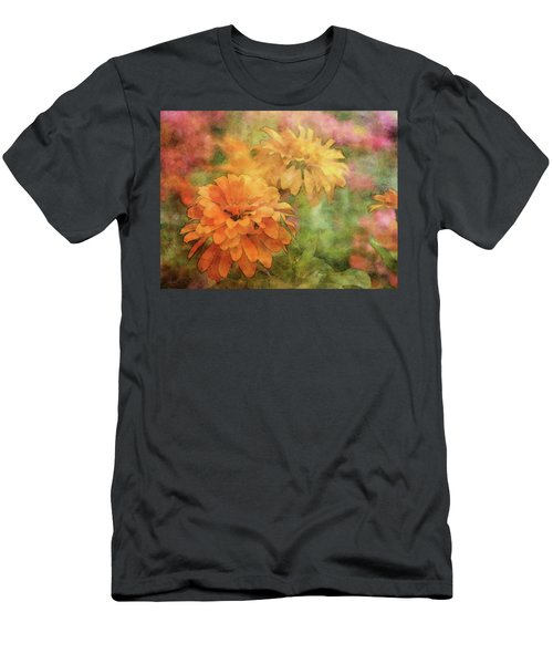 Zinnias 3063 Idp_2 Men's T-Shirt (Athletic Fit)
