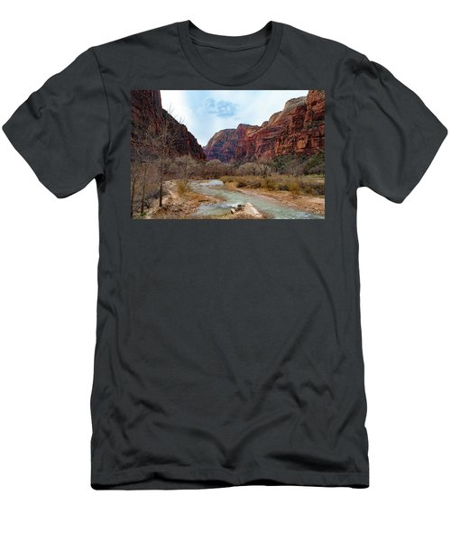 Zion Canyon Men's T-Shirt (Athletic Fit)