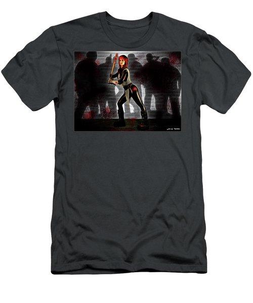 Zombie Hunter Men's T-Shirt (Athletic Fit)