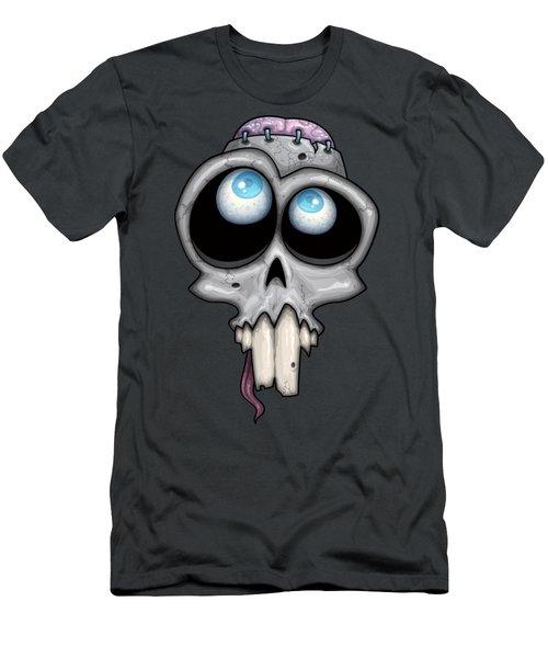 Zombie Skull Men's T-Shirt (Athletic Fit)