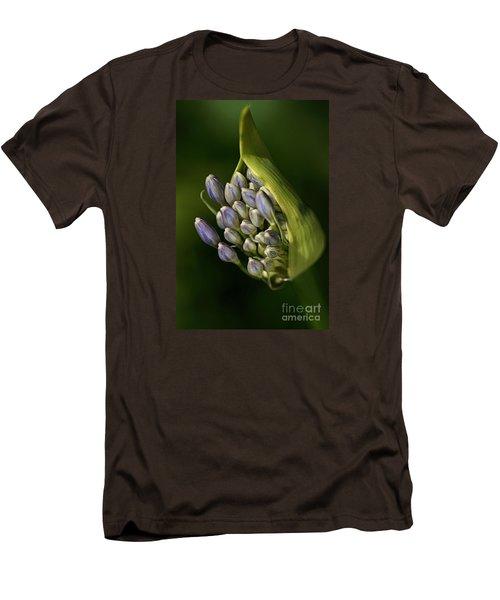 Men's T-Shirt (Slim Fit) featuring the photograph Agapanthus by Joy Watson