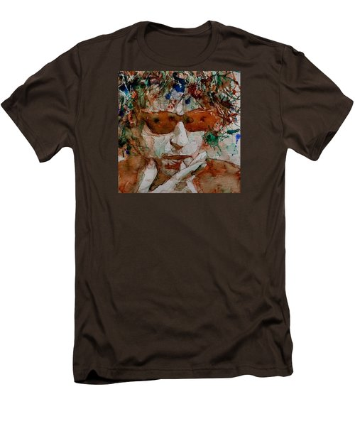 Just Like A Woman Men's T-Shirt (Slim Fit) by Paul Lovering