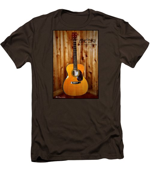 Martin Guitar - The Eric Clapton Limited Edition Men's T-Shirt (Slim Fit) by Bill Cannon