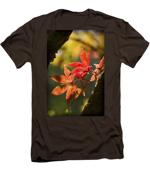 Men's T-Shirt (Slim Fit) featuring the photograph In Between... by Clare Bambers