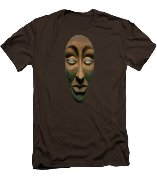 Men's T-Shirt (Slim Fit) featuring the photograph Artificial Intelligence Entity by David Dehner