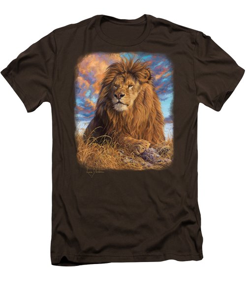 Watchful Eyes Men's T-Shirt (Slim Fit) by Lucie Bilodeau