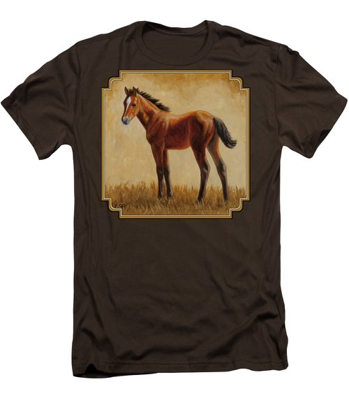 Afternoon Glow Men's T-Shirt (Slim Fit) by Crista Forest