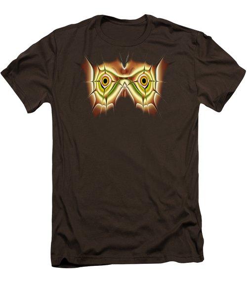 Barn Owl Men's T-Shirt (Slim Fit) by Anastasiya Malakhova