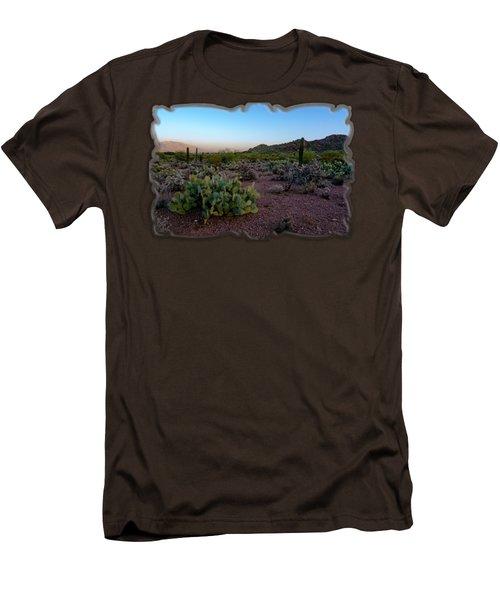 Desert Foothills H29 Men's T-Shirt (Slim Fit) by Mark Myhaver