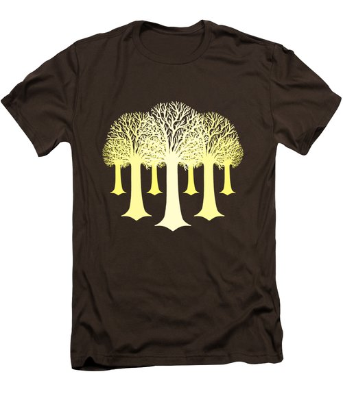 Electricitrees Men's T-Shirt (Slim Fit) by Freshinkstain