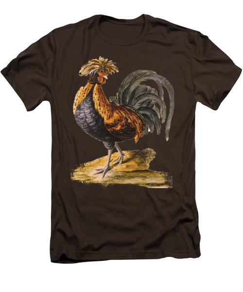 Le Coq Rooster T Shirt Design Men's T-Shirt (Slim Fit) by Bellesouth Studio