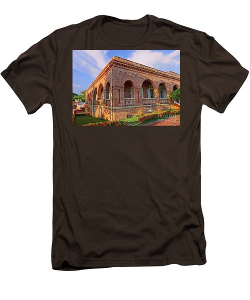 Men's T-Shirt (Slim Fit) featuring the photograph The Former British Consulate In Kaohsiung In Taiwan by Yali Shi