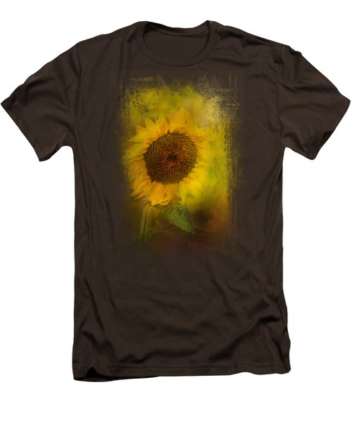 The Happiest Flower Men's T-Shirt (Slim Fit) by Jai Johnson