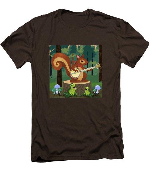 The Nutport Croak Music Festival Men's T-Shirt (Slim Fit) by Little Bunny Sunshine