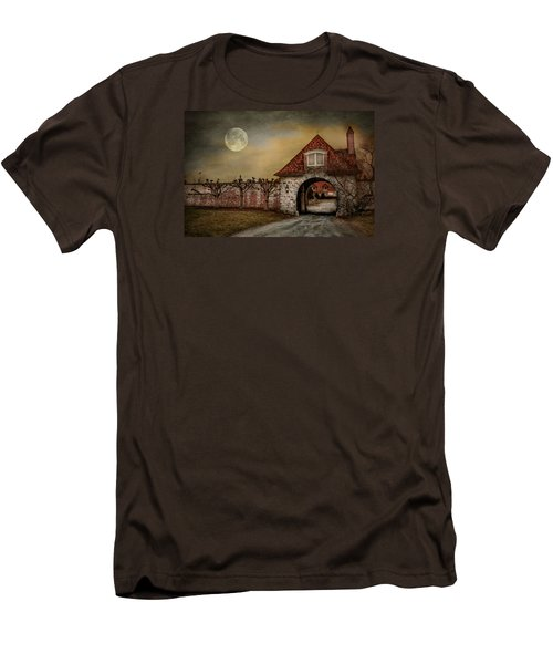 Men's T-Shirt (Slim Fit) featuring the photograph The Watcher by Robin-lee Vieira
