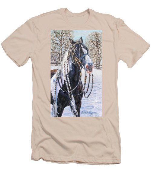 I'm Ready For The Ribbons Gypsy Vanner Horse Men's T-Shirt (Athletic Fit)