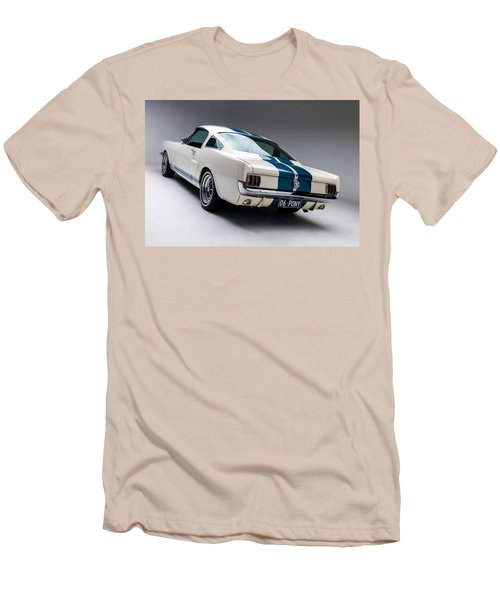 Men's T-Shirt (Slim Fit) featuring the photograph 1966 Mustang Gt350 by Gianfranco Weiss