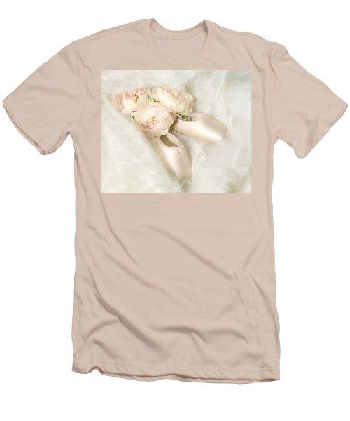 Ballet Shoes Men's T-Shirt (Athletic Fit)