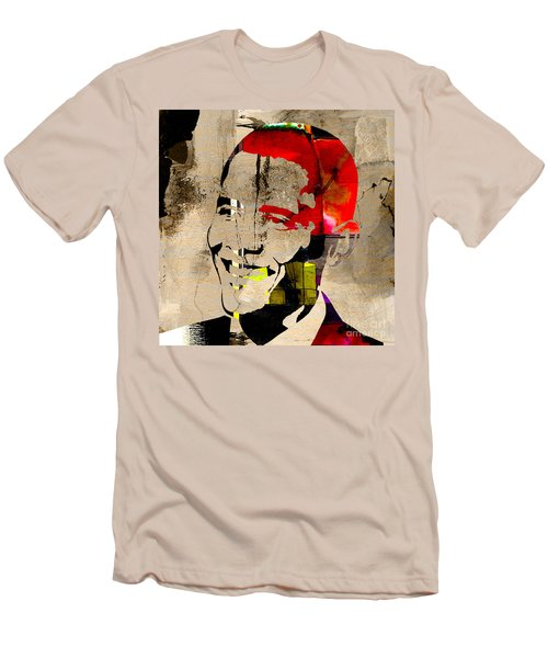 Barack Obama Men's T-Shirt (Slim Fit) by Marvin Blaine