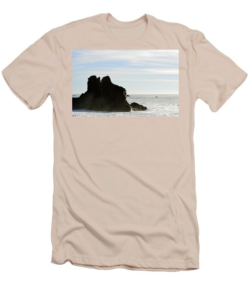 Beach Beauty  Men's T-Shirt (Athletic Fit)