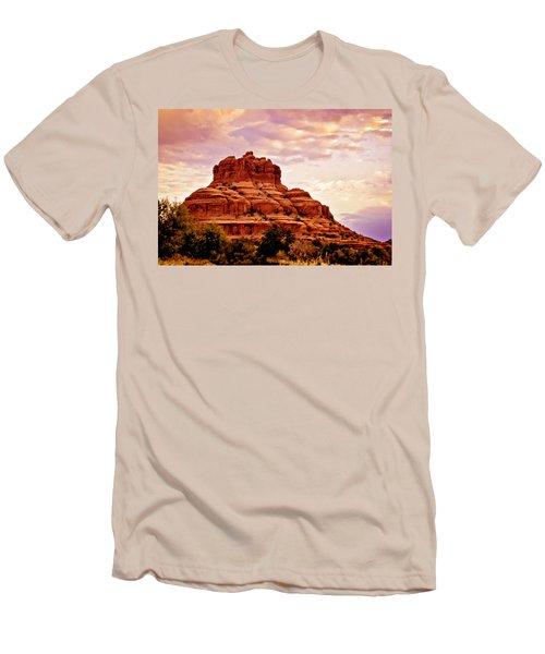Bell Rock Vortex Painting Men's T-Shirt (Athletic Fit)