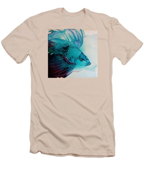 Betta Dragon Fish Men's T-Shirt (Athletic Fit)
