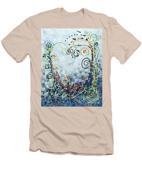 Crazy Love Jazz Men's T-Shirt (Slim Fit) by Holly Carmichael
