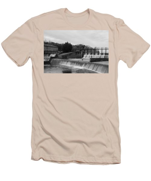 Daniel Pratt Cotton Mill Dam Prattville Alabama Men's T-Shirt (Athletic Fit)