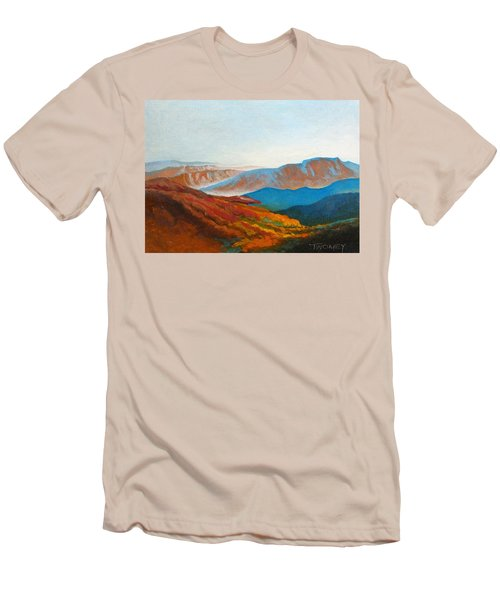 East Fall Blue Ridge Mountains 2 Men's T-Shirt (Athletic Fit)