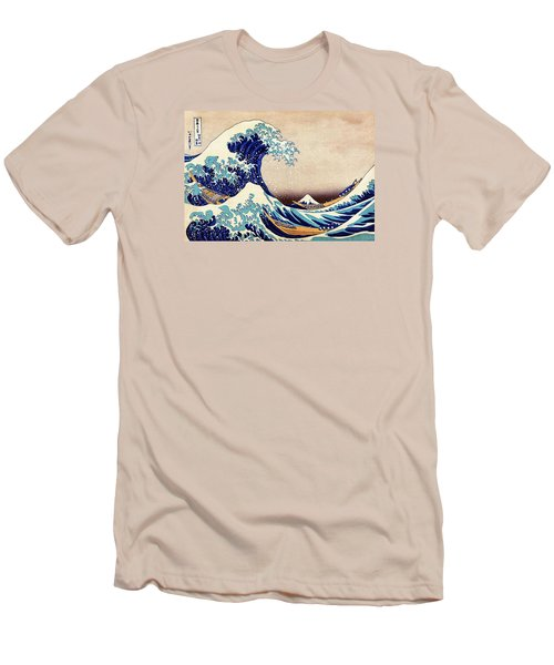 Great Wave Off Kanagawa Men's T-Shirt (Athletic Fit)