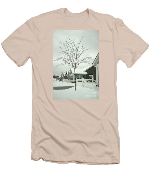 Hello Snow Men's T-Shirt (Athletic Fit)