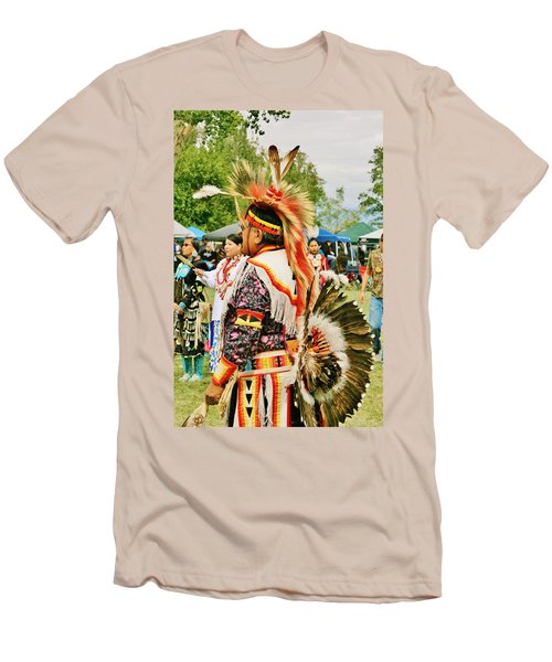 Men's T-Shirt (Slim Fit) featuring the photograph Indian Finery by Marilyn Diaz