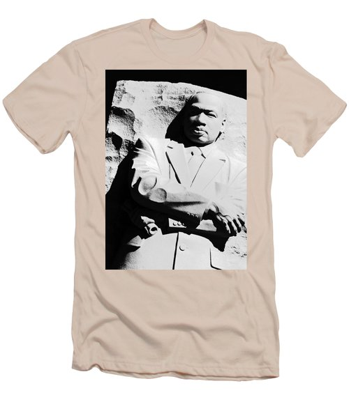 Men's T-Shirt (Slim Fit) featuring the photograph Martin Luther King Memorial by Cora Wandel