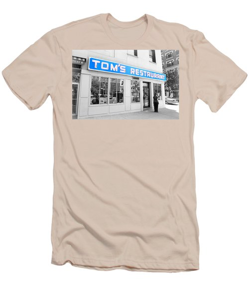 Seinfeld Diner Location Men's T-Shirt (Slim Fit) by Valentino Visentini