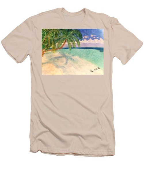 Tropical Shores Men's T-Shirt (Athletic Fit)