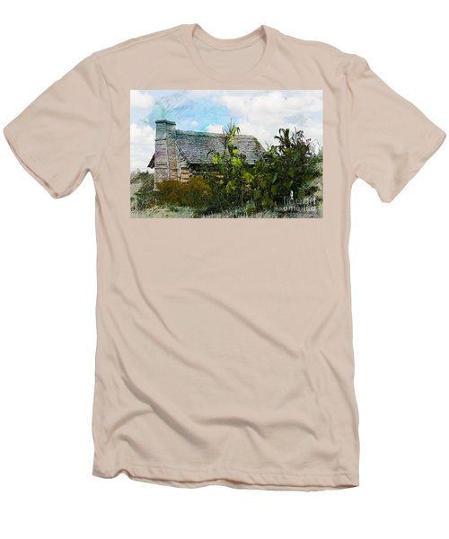 Men's T-Shirt (Slim Fit) featuring the photograph 1810 Living by Robert Pearson